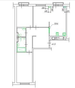 3 комнатная квартира Ильинские луга